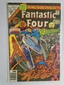 Fantastic Four Annual #12 4.0 VG (1977 1st Series)