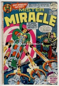 MISTER MIRACLE #7, Jack Kirby, Steve Ditko, Axis,1972,VF  (b), more JK in store
