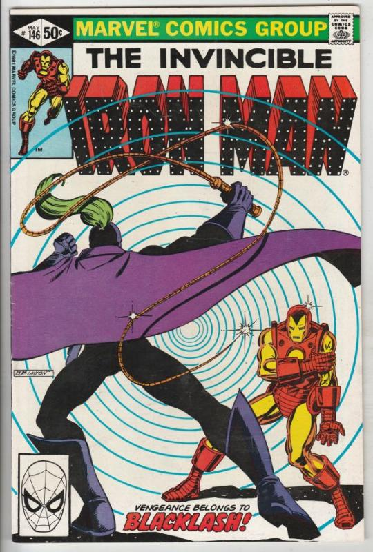 Iron Man #146 (Apr-81) NM- High-Grade Iron Man