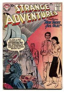 Strange Adventures #87 1958- Sci-Fi - comic book DC