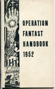 Operation Fantasy Handbook #2 1952-U.K.-collector info-pulp-fanzines-FN