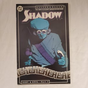 Shadow 16 Very Fine+ Cover by Kyle Baker
