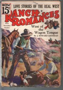 Ranch Romances 10/10/1936-pulp fiction-Stephen Payne-VG+