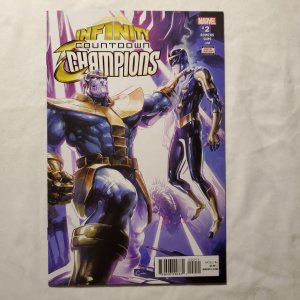 Infinity Countdown Champions 2 Near Mint Cover by Clayton Crain