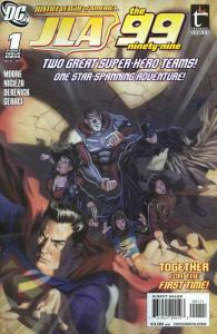 Justice League of America/The 99 #1 VF; DC | save on shipping - details inside
