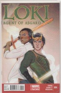 Loki: Agent of Asgard #4 (2014)