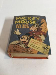 Mickey Mouse On Sky Island Fn Fine 6.0 Big Little Books 1417