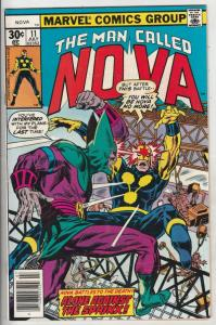 Nova, the Man Called #11 (Jul-77) NM/NM- High-Grade Nova