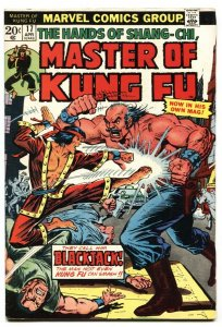 Master of Kung Fu #17-1974 comic book-Blackjack issue VF