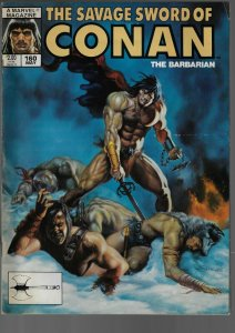 Savage Sword of Conan #160 (Marvel, 1989)