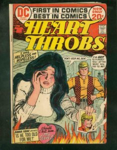 HEART THROBS #143 '72-RARE DC VARIANT COVER-DONNA FAYNE VG