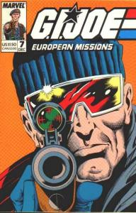 G.I. Joe European Missions #7, VF (Stock photo)