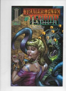 TRAILER PARK OF TERROR #3, NM, Zombies, Blood, Horror, Signed Dracoules Fridolfs