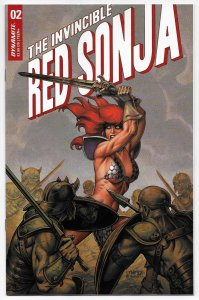Invincible Red Sonja #2 Cvr B Linsner (Dynamite, 2021) NM