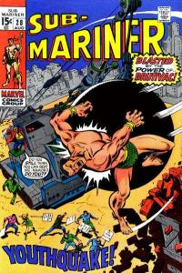Sub-Mariner (1968 series) #28, VG+ (Stock photo)