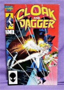 Bill Mantlo CLOAK and DAGGER #6 Rick Leonardi 2nd App Mayhem (Marvel, 1985)!