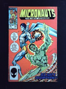 Micronauts: The New Voyages #14 (1985)