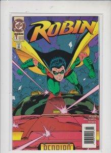 ROBIN  V2 #1  NOV 1993 / DC  /  UNREAD  / NM / NM+