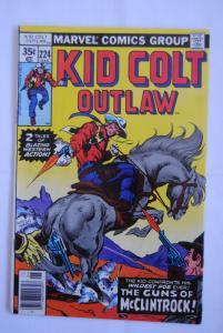 Kid Colt Outlaw #224