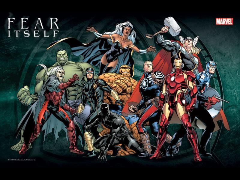 Fear Itself Poster by Stuart Immonen - Avengers (24 x 36) - Rolled/New!