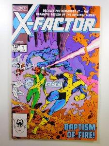 X-Factor #1 (1986) VF+