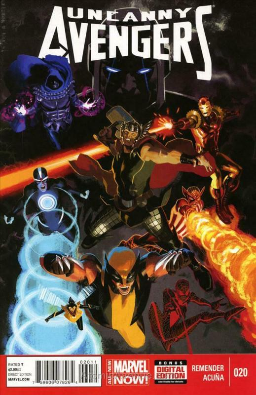 Uncanny Avengers #20 VF/NM; Marvel | save on shipping - details inside