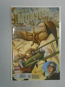Where Monsters Dwell #1 8.0 VF (2015)