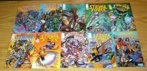 Codename: Stryke Force #0 & 1-14 VF/NM complete series - brandon peterson - imag