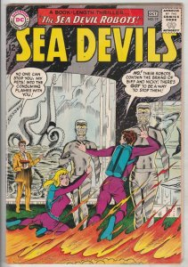 Sea Devils #19 (Oct-64) FN/VF Mid-High-Grade Sea Devils (Dane Dorrence, Biff ...