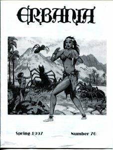 Erbania #76 1997 -Edgar Rice Burroughs-Tarzan-David B. Mattingly-info-pix- VG