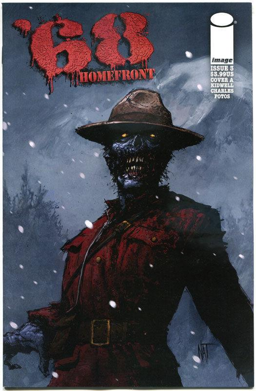 '68 HOMEFRONT #3 A, NM,1st Print, Zombie, Walking Dead,2014,more Horror in store