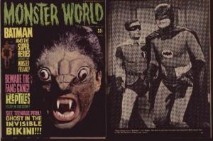 MONSTER WORLD#10(1966) TinINVISIBLE BIKINI