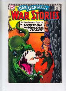 Star Spangled War Stories #130 (Jan-67) VG/FN+ Mid-Grade Dinosaur