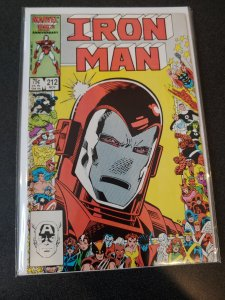 IRON MAN #212 VF/NM MODERN
