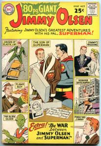 80 Page Giant #2 1964-Superman- Jimmy Olsen- DC comics VG/F
