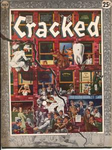 Cracked #23 1958-MAD imitator-John Severin-Bill Ward-Syd Shores-Russ Heath-FN+