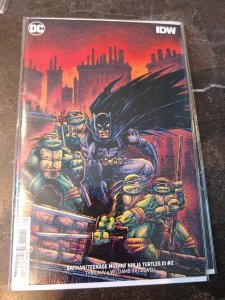 BATMAN/TEENAGE MUTANT NINJA TURTLES III #2 VIRGIN VARIANT NM