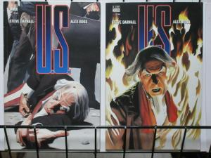 U.S. (1997) 1-2 ALEX ROSS and UNCLE SAM