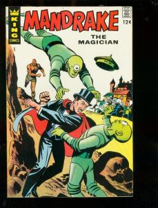 MANDRAKE THE MAGICIAN #5 1967-FLYING SAUCERS-BRICK BRAD VF