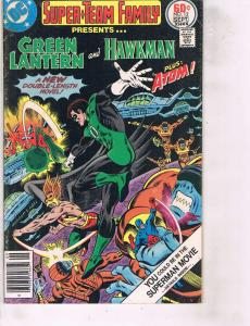 Lot Of 2 DC Comic Books Super Team Family #12 and NIghtwing #12 Batman LH24