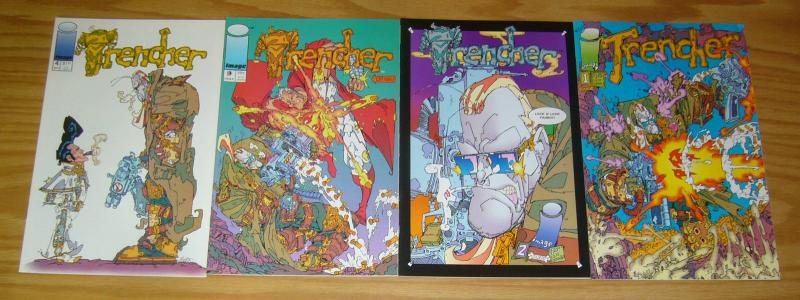 Trencher #1-4 VF/NM complete series - image comics - keith giffen 2 3 set lot