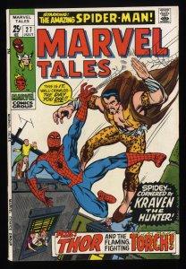 Marvel Tales #27 NM- 9.2 Comics Spider-Man Kraven!