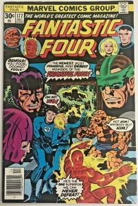 FANTASTIC FOUR#177 FN/VF 1976 MARVEL BRONZE AGE COMICS