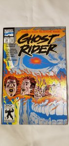 Ghost Rider #25 - FINE - Pop Up Centerfold - Double Sized