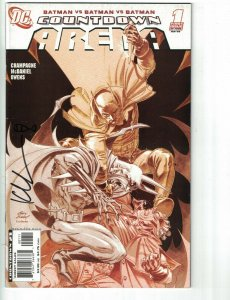 Countdown: Arena #1 FN signed by Keith Champagne - DC - Batman - Superman