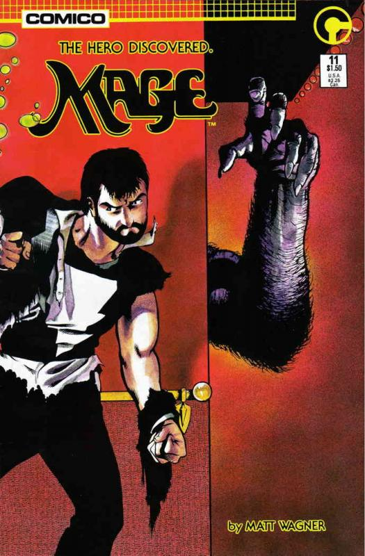 Mage #11 VF/NM; COMICO | combined shipping available - details inside