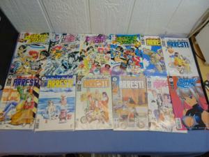 12 Dark Horse Manga Comic Books Dirty Pair Sim Hell & You're Under Arrest MINT