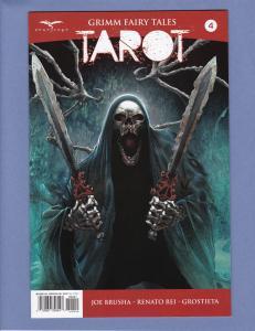 Grimm Fairy Tales Tarot #4 NM- Variant Cover D