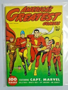 Flashback #25 America's Greatest Comics 1 grade 7.0 (1941 1970)