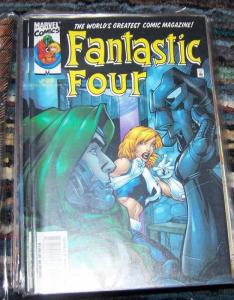 FANTASTIC FOUR  #29  vol 3 2000 marvel DOCTOR DOOM+ frightful FOUR